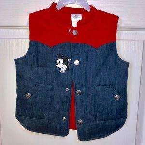 DISNEY boys vest
